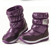 2014 new winter snow boots for boys and girls shoes waterproof boots warm boots for children