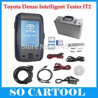 2015 Newest Toyota Denso Intelligent Tester IT2 V2014.10 for Toyota and Suzuki With Oscilloscop + Aluminium Case