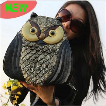 2014 женщин сумки сова сумки винтаж сумочка мода сумка одно плечо кросс тело сумки