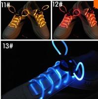 A1 Free shipping LED Optical Fiber Flashing Shoelaces,Optical Fiber Glowing Light LED Shoelaces Glow Dark Shoelaces Wholesale