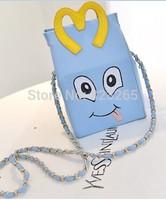 Creative chain bag, catwalk models same paragraph shoulder bag , Ms. medium bag,fashion design bag