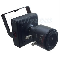 2.8-12mm Manual Focus Zoom Lens HD 2MP 1080P IP Network H.264 P2P Mini Square Camera 30fps Android IOS,ONVIF