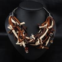 Wholesale Winter Fashion Jewelry Women Retro Collar Costume Vintage Unique Deisgn Choker Statement Necklace