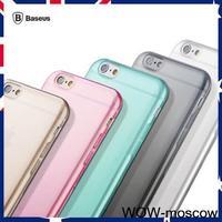 "Baseus Soft TPU Skin Transparent Case Cover For  5.5"" iPhone 6 Plus Multi Color"