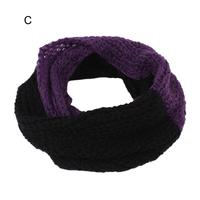 Winter women yarn circle scarf infinity Gradient color infinity yarn scarfs ,NL-2217