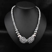 Wholesale Gothic Medusa Women Unique Fashion Jewelry Vintage Chain statement Pendant Collar necklace