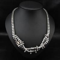 Wholesale Gothic Colares Jewelry Fashion Vintage Costume Women Bijoux Chain Collars Statement Choker Necklace
