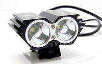 5000 Lumen 2x CREE XML U2 LED Cycling Bicycle Bike Light Lamp HeadLight Headlamp