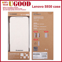 Original Lenovo S930 Leather Case,Lenovo S930 Smart Flip Cover Case For Lenovo S930 Case Free Shipping