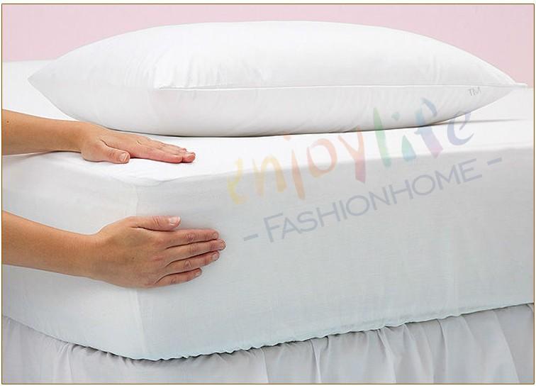Hot Selling Stock UK Size Elite Smooth Hospital/Home/Hotel Mattress Protector Single 90*190+30cm(China (Mainland))