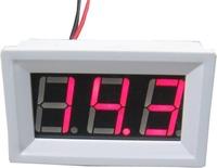 red led digital voltmeter volt panel meter voltage Monitor tester with alarm