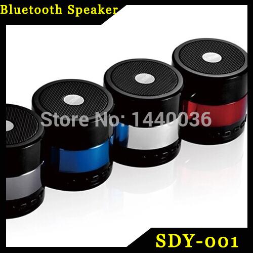 SDY-001 Mini Portable Bluetooth Hifi Speaker Micro SD/TF Card USB Disk Player MP3/4 Audio FM Radio for iPhone Samsung 60pcs(China (Mainland))
