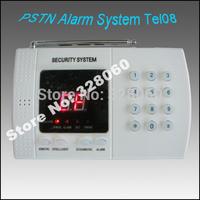 CE Certtificate Approved Wireless Guarantee 99-Zone Home Security Alarm System Wireless PSTN Burglar home alarm