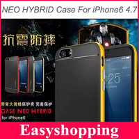 SLIM NEO HYBRID Case For iPhone 6 6G 4.7'' Inch Ultra Slim Phone Bags Back Cover Luxury TPU Plastic Cases For iPhone6