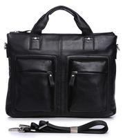 2014 new men's business bags 100% Genuine leather handbag with high quality leather briefcase messenger bag designer handbags