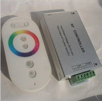 12A Wireless RF Touch Panel LED RGB Dimmer Remote Controller For RGB LED Strip 12V / 24V