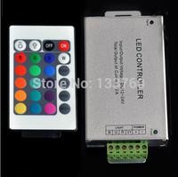 NEW DC 12V-24V 12A 144W 24Key IR Remote Controller For RGB 5050 3528 LED Strip SMD