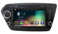 "8"" Capacitive Screen pure Android 4.2 Car DVD GPS for Kia Rio K2 (2011-2012) Radio Bluetooth Ipod RDS Wifi 3G Free shipping"