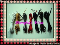 hot selling , post free shipping, flat wax shoelaces , 20prs/lot. 90-115-120cm