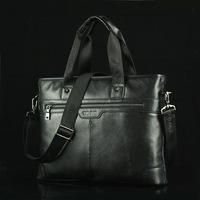 First layer leather Genuine carteira mssenger Men shoulder bag leisure carteira feminina business shoulder bags