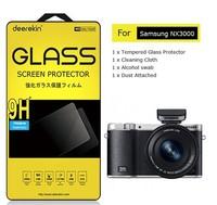 Deerekin Tempered Glass LCD Screen Protector for Samsung NX3000 Digital Camera Shield Film