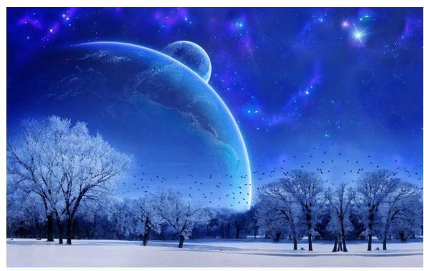 Fonds d'écran ciel nocturne