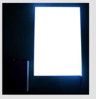 12V DC Inverter white EL Panel Neon Glow Back Light Board A4 21cmx30cm