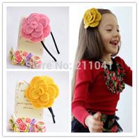Wholesale flower girls Headband Headwear for Women winter hair Accessories Hair Ornaments Free Shipping B59