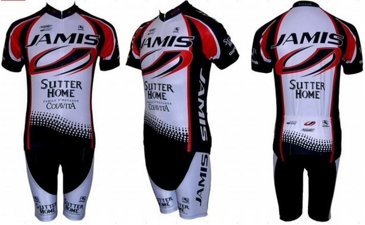 Free shipping! JAMIS team cycling jersey and shorts / short sleeve jerseys+pants bike bicycle wear set COOL MAX(China (Mainland))