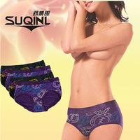 Wholesale M L XL XXL Panties Girl fashion briefs women sexy lady Modal Low Waist underwear 6pcs/lot free shipping