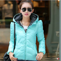 2014 han edition of the new cotton female cotton-padded jacket women's autumn/winter winter jacket  down cotton-padded jacket