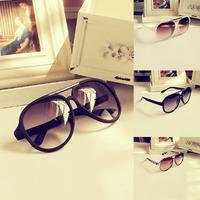Vintage Womens Unisex Plastic Frame Rivet Aviator Sunglasses Eyeglasses GogglesFree&Drop Shipping