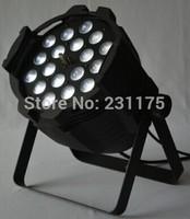 18pcs 15W RGBWA 5in1 LED Par 64 dj party disco light with zoom