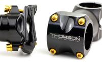 Titanium handlebar stem bolts and titanium alloy seat post screws set kit for Thomson bike series
