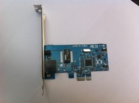 Gigabit Ethernet LAN with Low Profile PCI-E Network Card 10/100/1000 Mbps