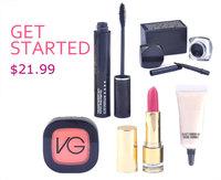 2014 new fashion top sales MA brand eyes+face makeup set women love 5pcs cosmetics set free shipping