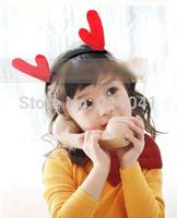 2014 new fashion Deer ear Christmas hair band princess girl headwear headbands adult hair accessory party accessories15pcs/lot