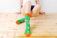 5pair Fashion British style retro hit color sub on the streets of cotton Food Series Harajuku socks of stocks