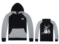 Crooks and Castles Hoodies free shipping hip hop sweatshirts winter suit cotton 2014 hoodie sweats mens sportswear
