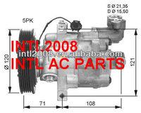 COMPRESSOR MICRA III (K12) 1.2 16V 65KM Kompresor klimatyzacji do  MICRA III (K12) 1.2 16V 65KM COM-DKV08R-120-5PK