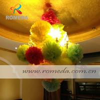 10CM small  Size Paper  Pom Poms Wedding Party Festival Decoration