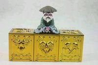 DT Aries Taurus Gemini Saint Seiya Myth Cloth Appendix Gold Cloth Pandora Box Vol.1 EX Alloy Metal case Capricorn  Figure