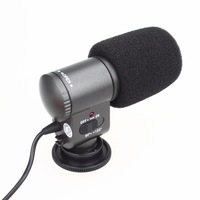 Professional Stereo Microphone SG-109 for Nikon Canon DSLR DV Camera Camcorder Free shipping