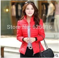 2014 parkas for women winter Women's Winter Parka Coat Warm Hoodie Down Faux Fur Collar Outwear Zipper jacket