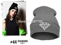 men women beanie Roll-up Caps skullies Wool Knitted hat Winter hat Men Women diamond beanie wholesale
