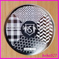 Free Shipping   Stamping Nail Art  8pcs/lot  hehe027  Nail Stamping Plates hehe001-060