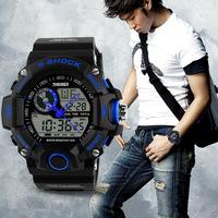 1029 trendy Military Army Sports Watches Men Luxury Brand Quartz Analog Digital LED Wristwatches Relogio Reloje