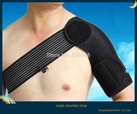 Hot ! new basketball volleyball sport one shoulder Sports adjustable unisex single shoulder support Strap neoprene brace