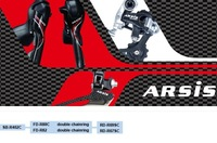 microSHIFT10/2 Speed carbon Shifters front rear Derailleur compatible for road bike groupset control system