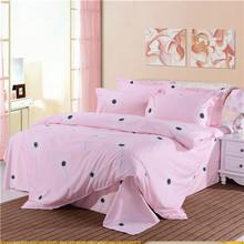 veludo cama queen set tamanho confortáveis conjuntos de cama impresso 3d luxo têxteis-lar incluem tampa do duvet& lençol& fronha(China (Mainland))